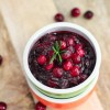 Easy 3 Ingredients Cranberry Sauce