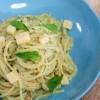 Creamy Pesto Spaghetti