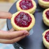 Cheesecake with Raspberry Sauce