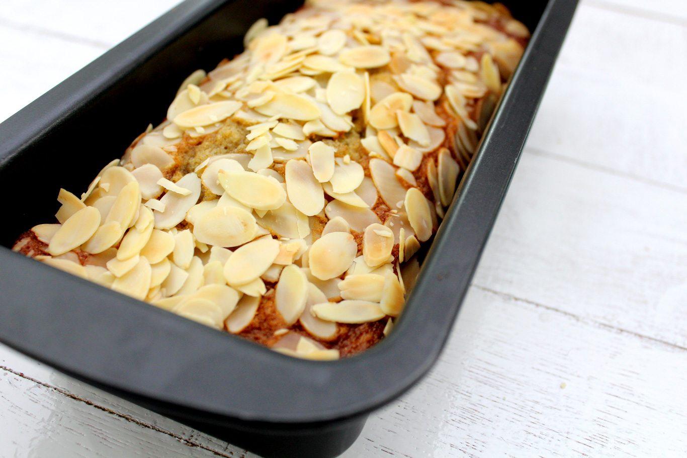 Banana--Almond-Bread