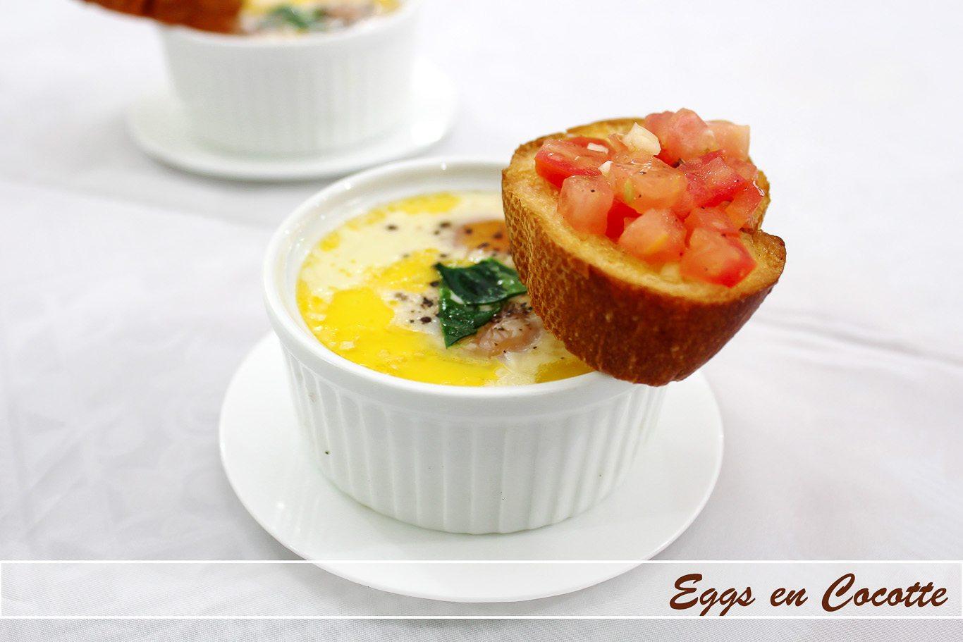 Eggs en cocotte