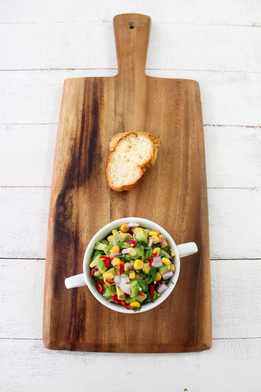 Corn and Avocado Salsa