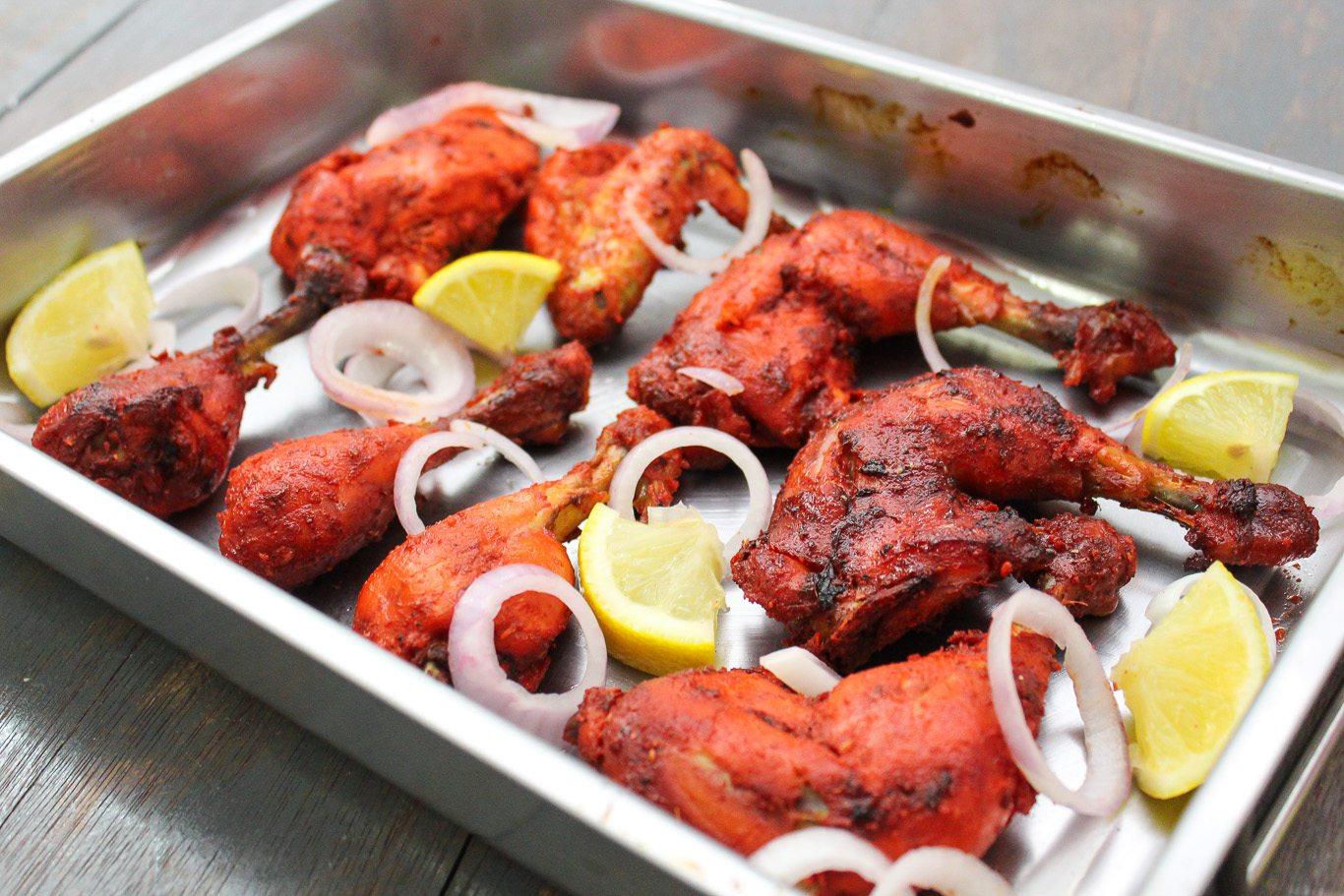 Tandoori chicken recipe with yogurt
