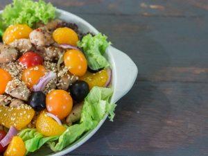 Sesame Chicken Salad