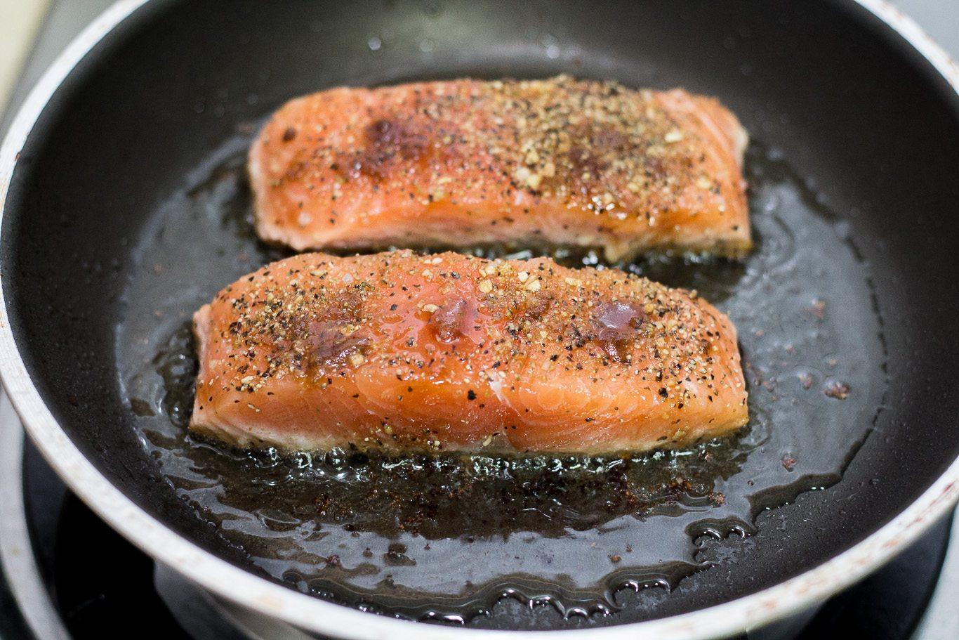 Simple Caramelized Salmon Recipe