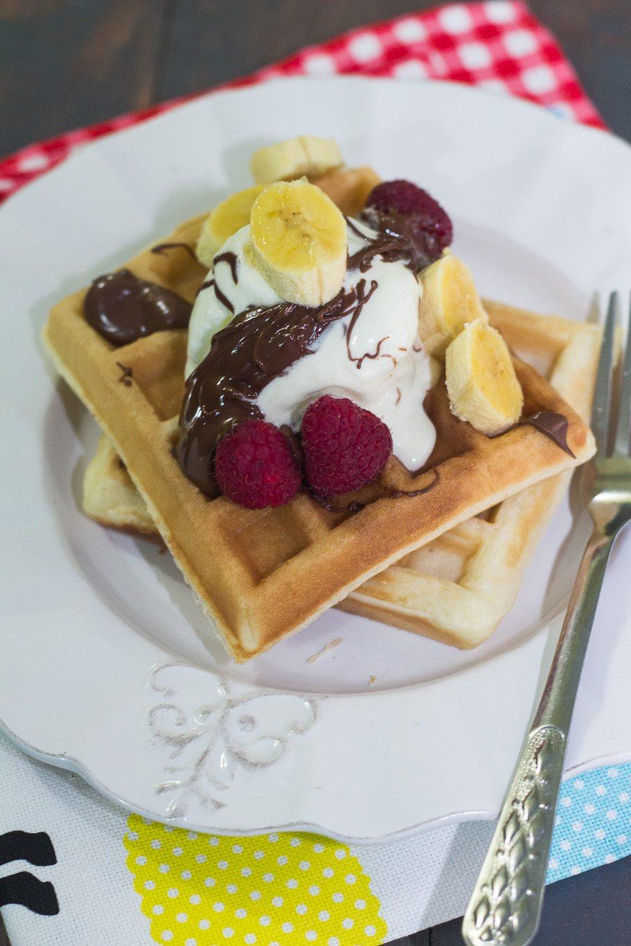 5 Minutes Fluffy Waffle Recipe
