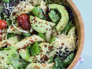 Delicious Pasta Salad with Avocado Dressing
