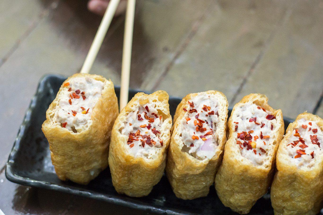 easy inari sushi recipe   maya kitche te