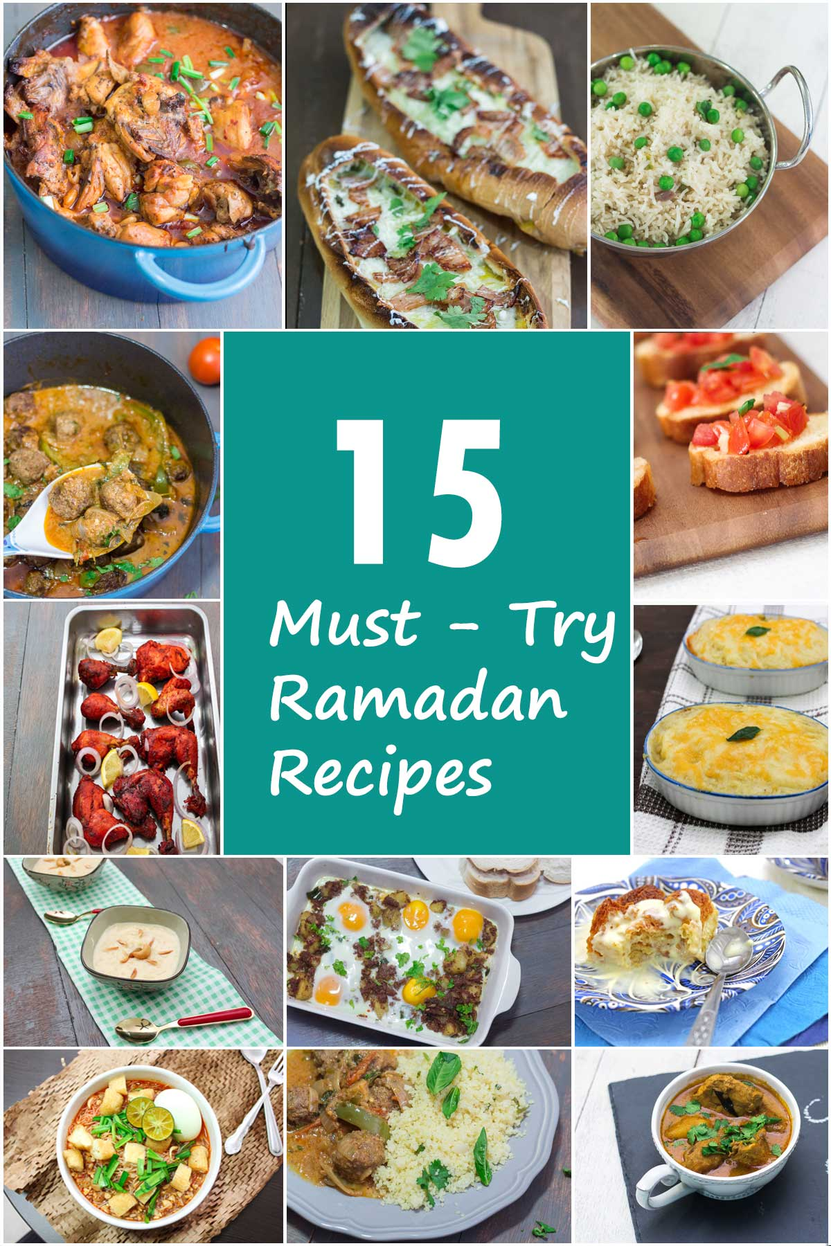 15 Must Have Baby Items Essential For Life With A Newborn: 15 Must Try Ramadan Recipes