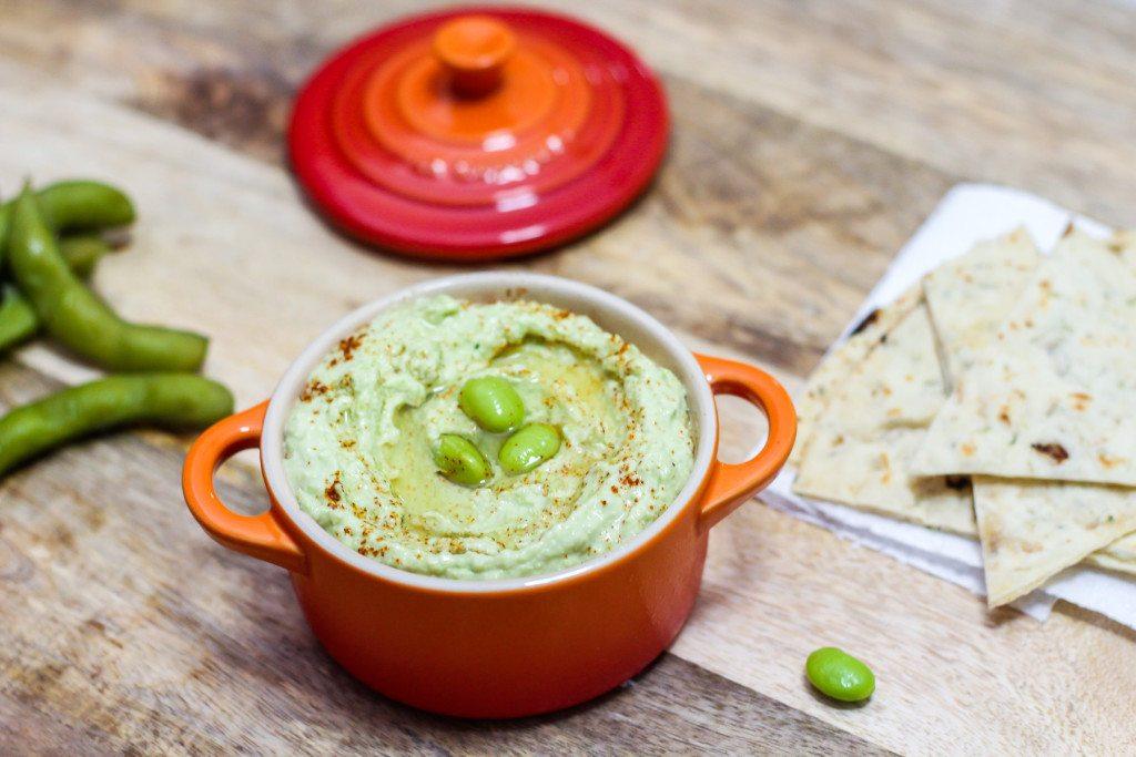 Delicious Edamame Hummus