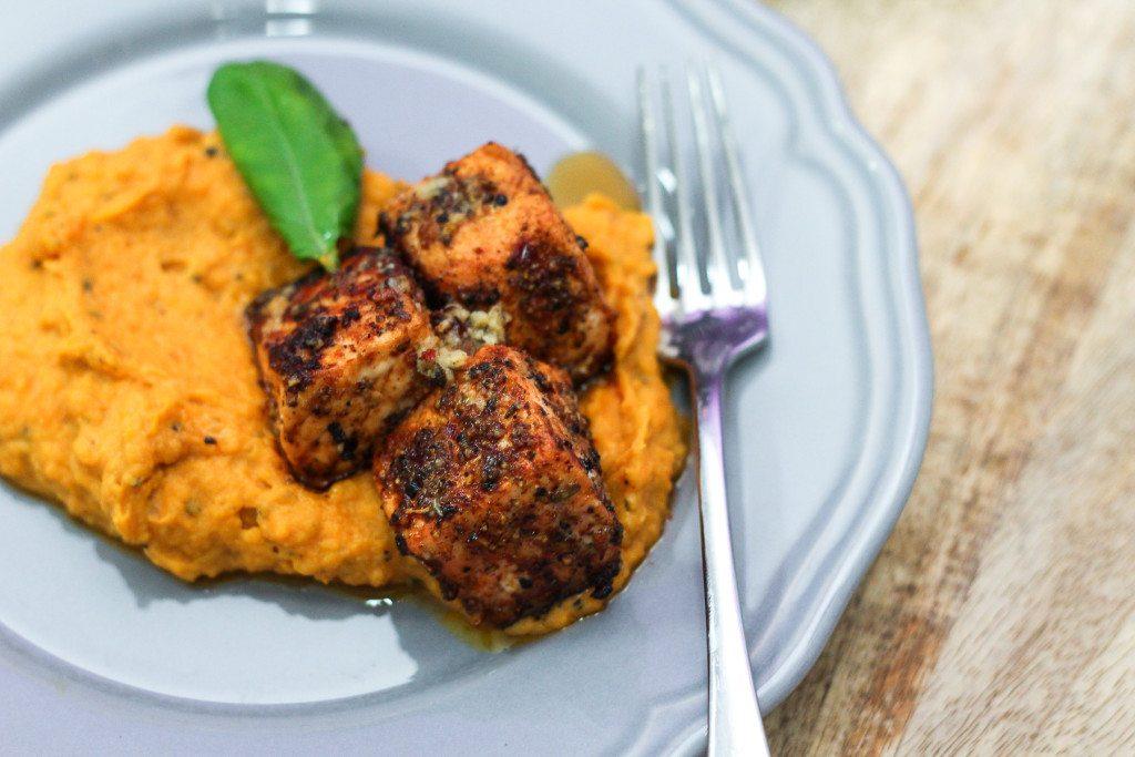... Lemon Herb Butter and Garlic Mashed Sweet Potatoes - Maya Kitchenette