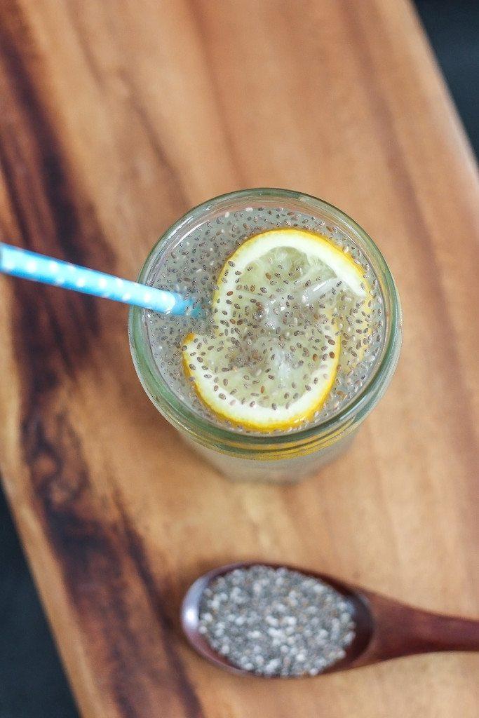 Easy Chia Lemonade