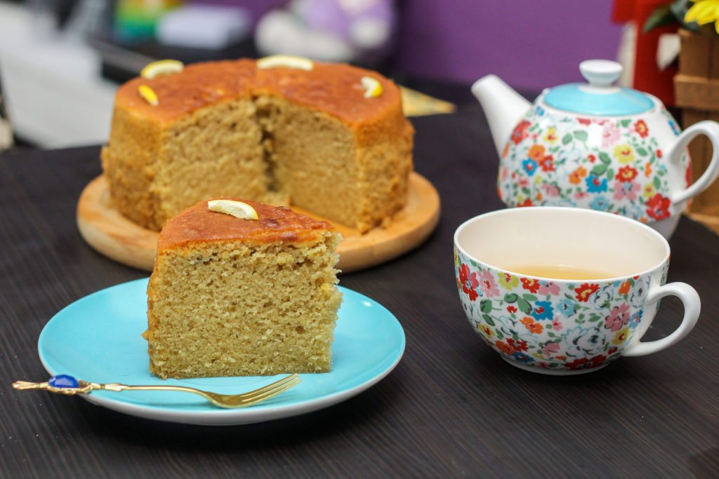 Delicious Earl Grey Cake