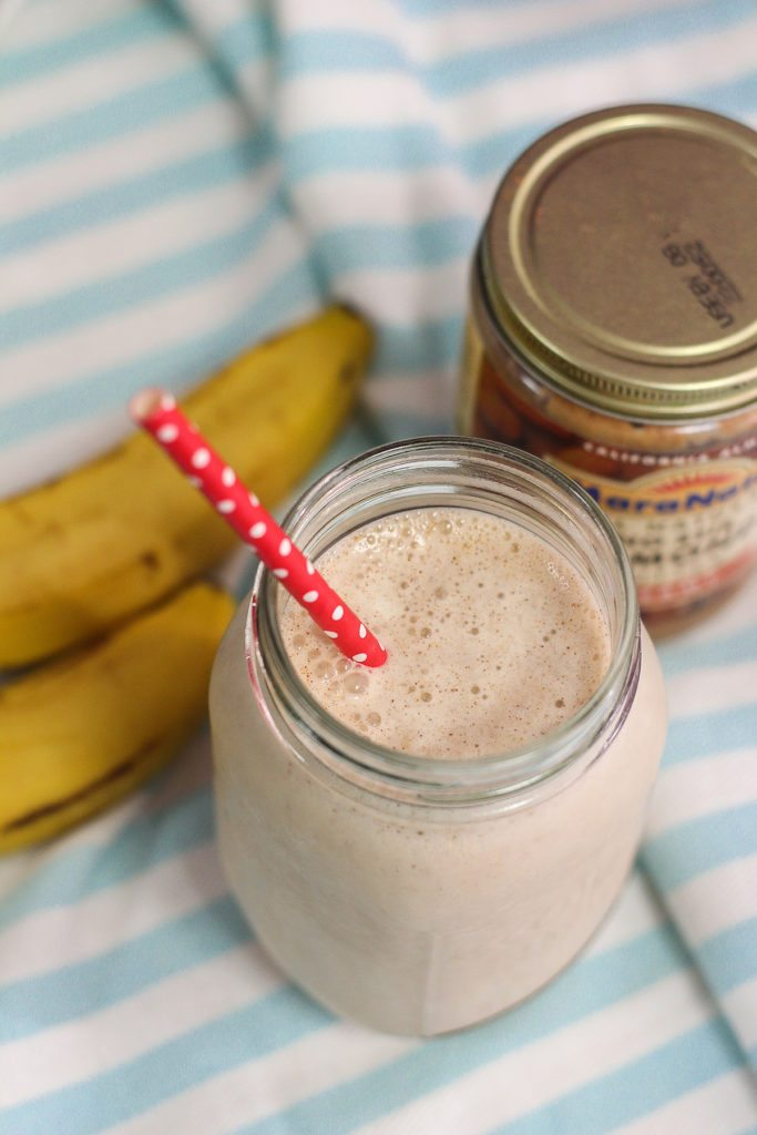 Almond Butter Banana Smoothie