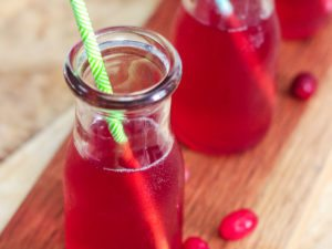 Homemade Cranberry Juice