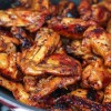 Delicious Stovetop Honey Chicken Wings