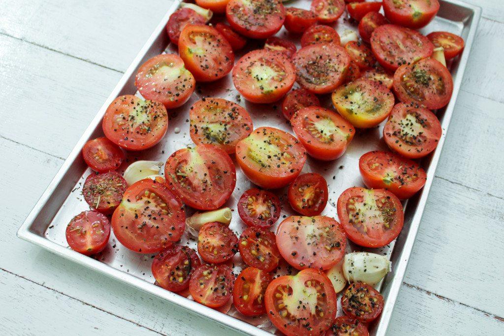 Slow Roasted Tomatoes - Maya Kitchenette