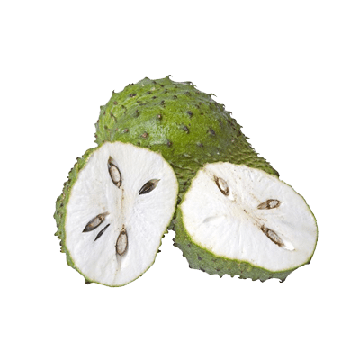 Soursop and Basil Seeds Mocktail