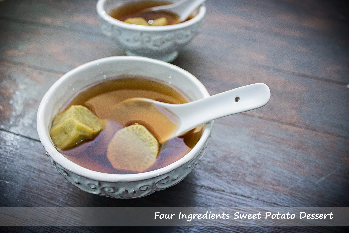 Four Ingredients Sweet Potato Dessert