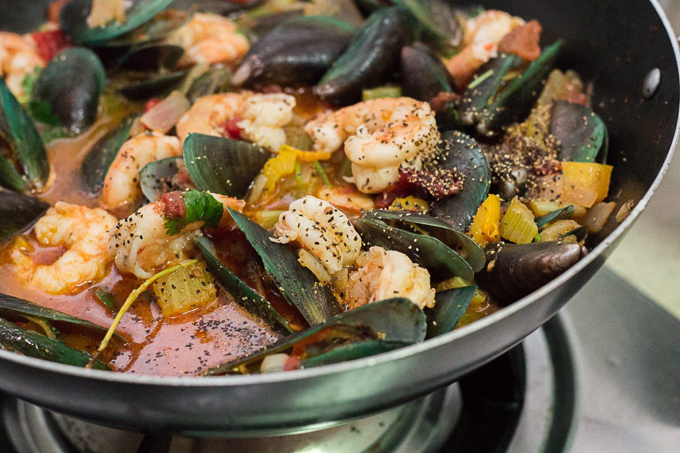 Easy Italian Seafood Soup