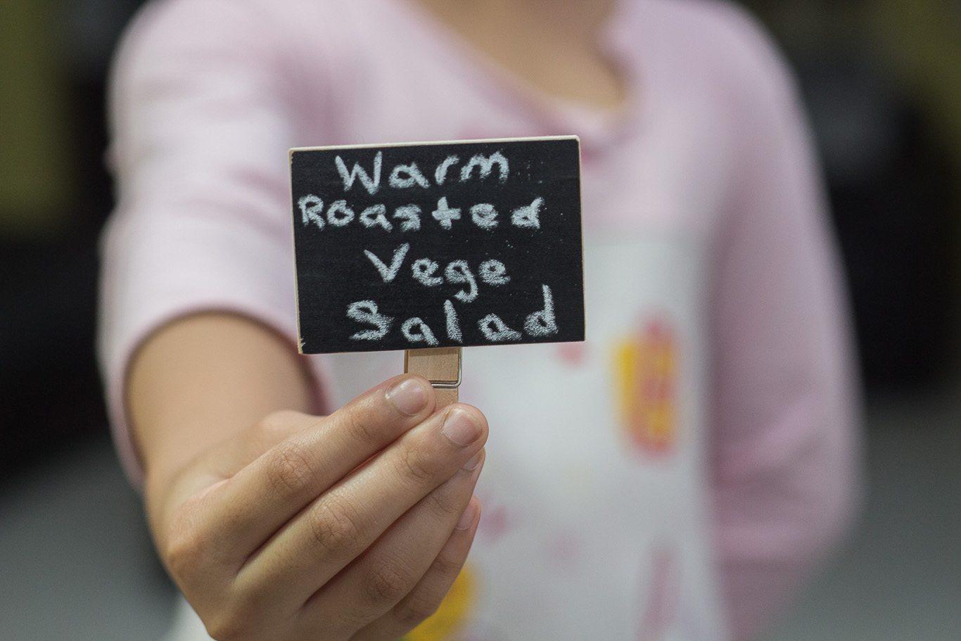 Warm Roasted Vegetable Salad
