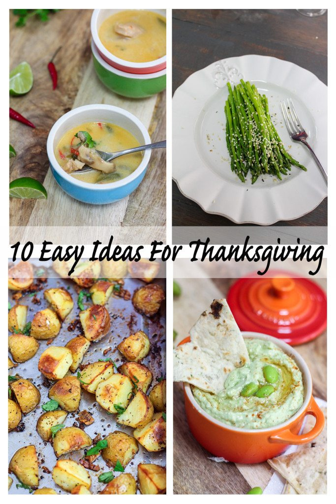 10 Easy Ideas For Thanksgiving