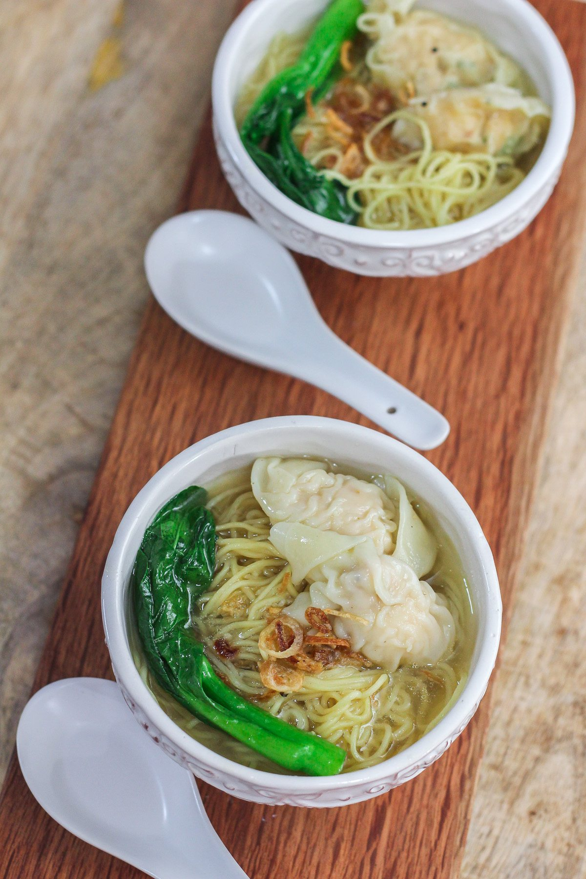 how to make chinese wonton noodle soup