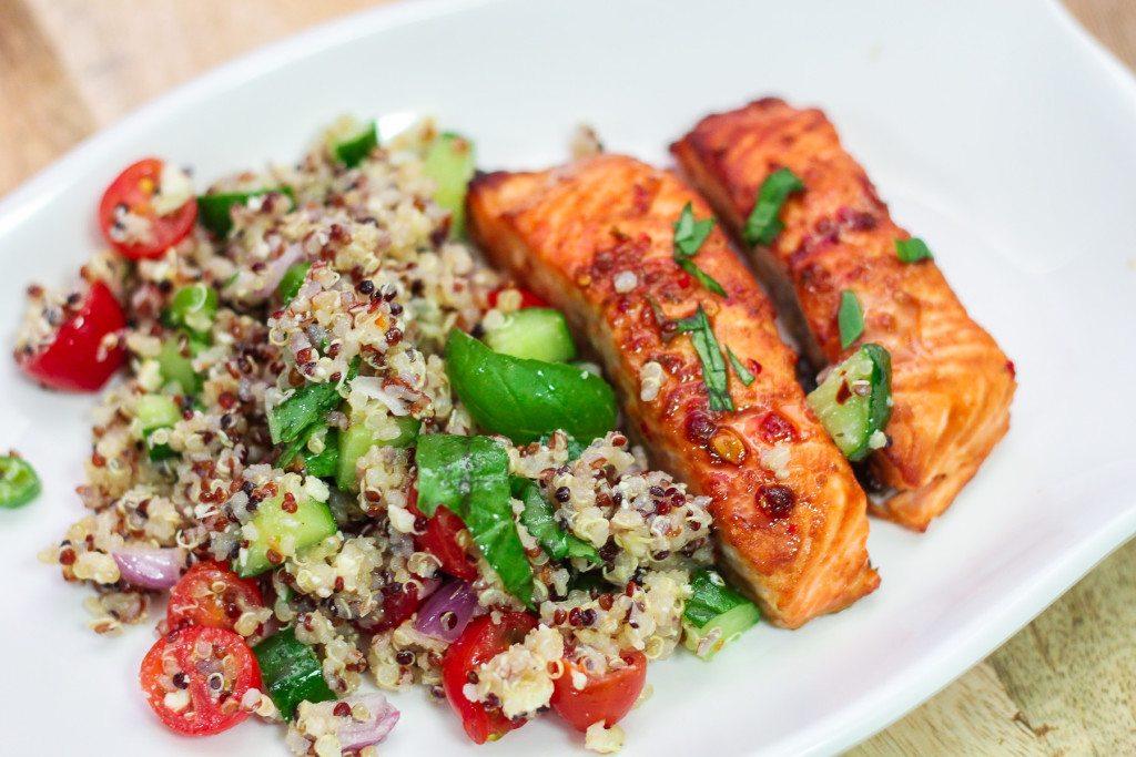 Delicious Quinoa Salad