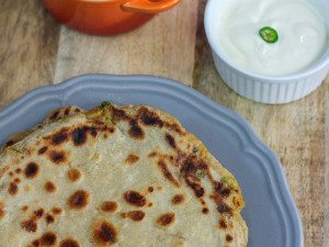Simple Aloo Paratha Recipe