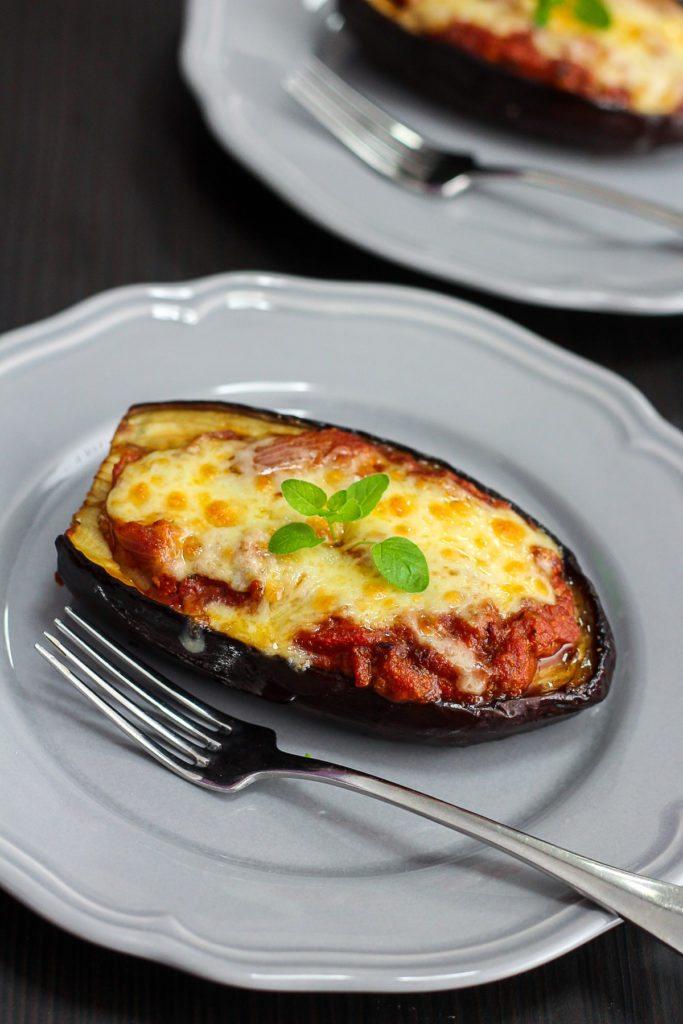 Delicious Stuffed Eggplant