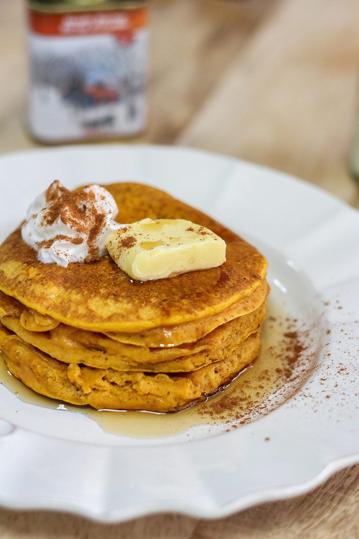 Delicious pumpkin spice pancakes maya kitchenette am i the only one who has not started getting pumpkin fied as yet thats because i am seeing pumpkin recipes popping out from left right and center ccuart Images