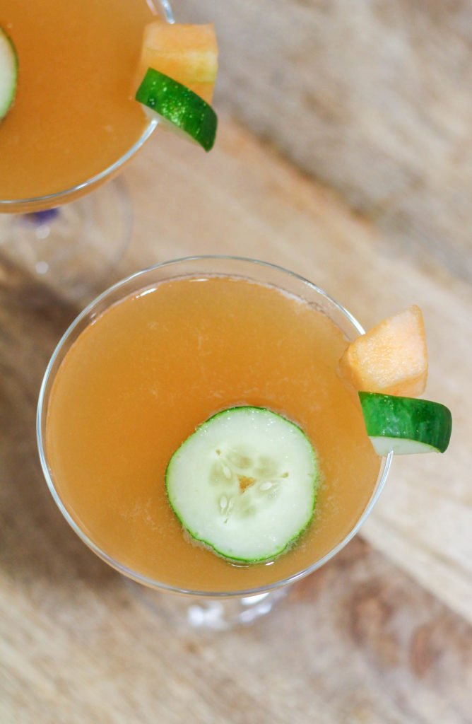 Melon and Cucumber Aqua Fresca
