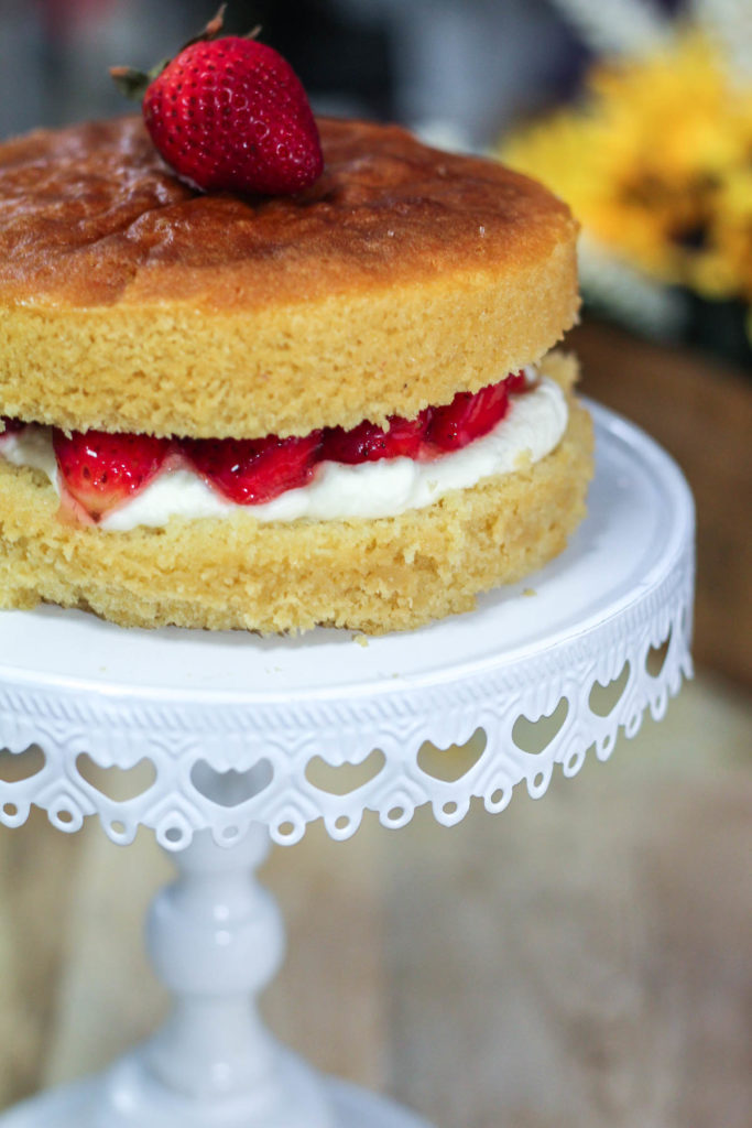 Low Sugar Victoria Sponge Cake Recipe