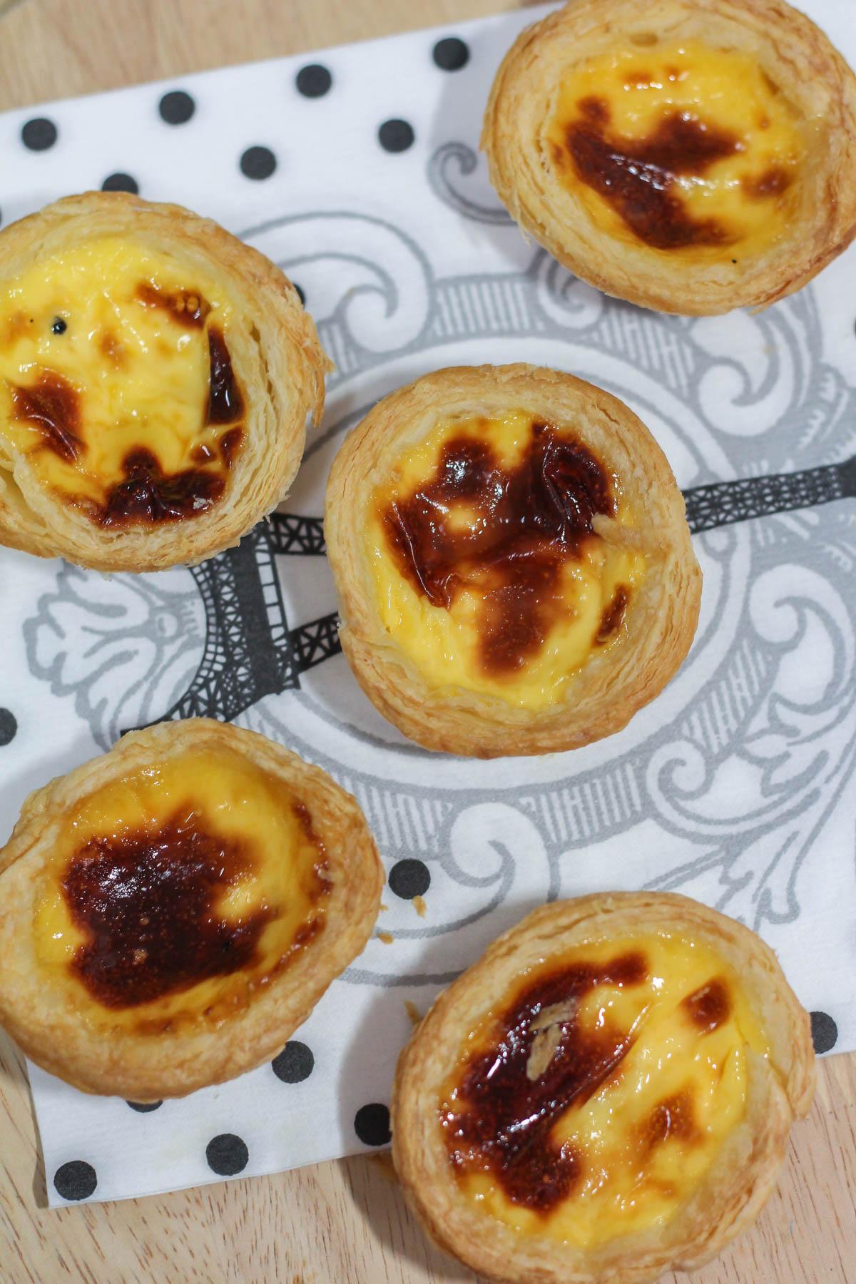 Easy Portuguese Egg Tarts Recipe