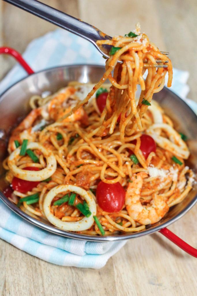 Easy Seafood Pasta Recipe