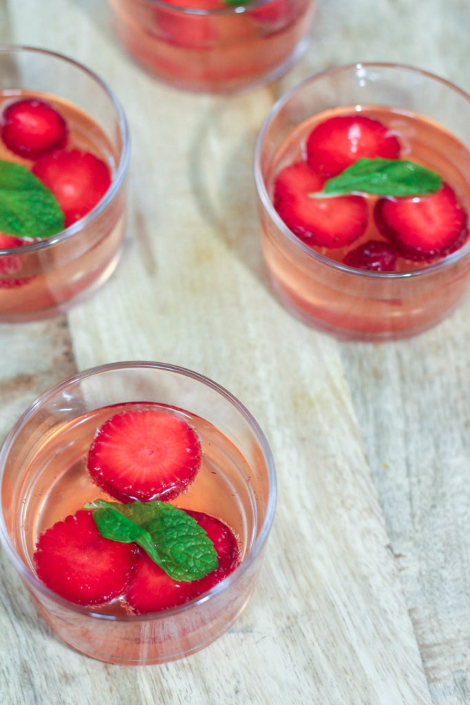 Non-Alcoholic Strawberry Sangria