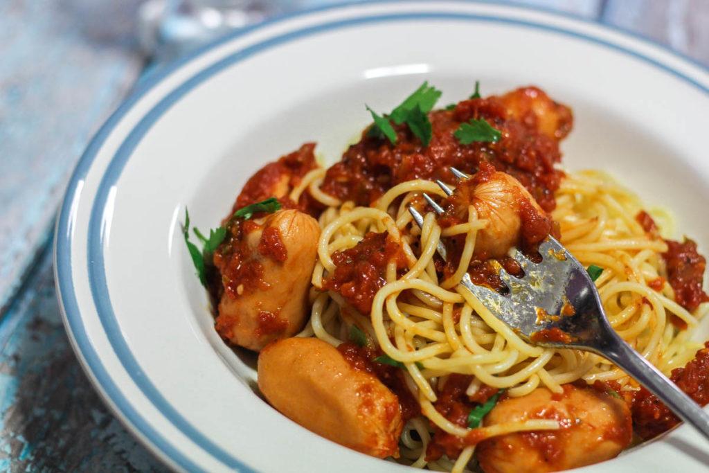 Spaghetti Ala Salsiccia